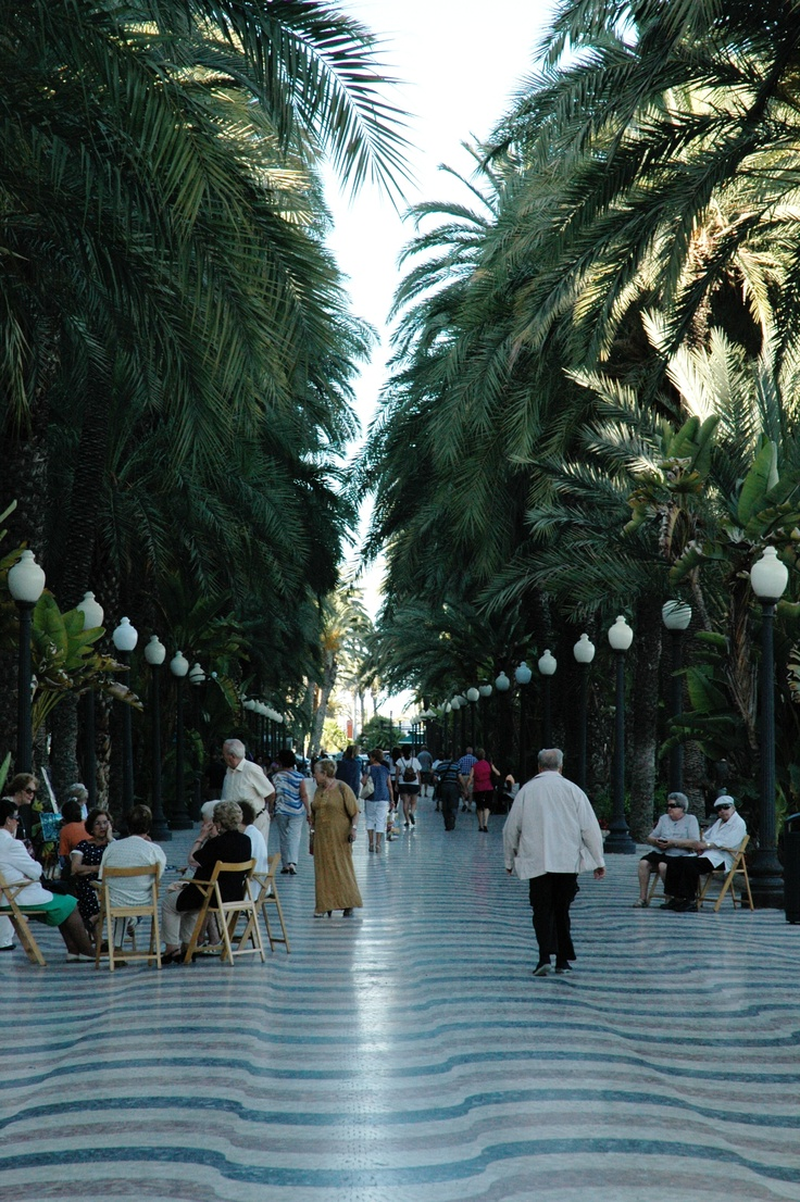 Alicante...walked here