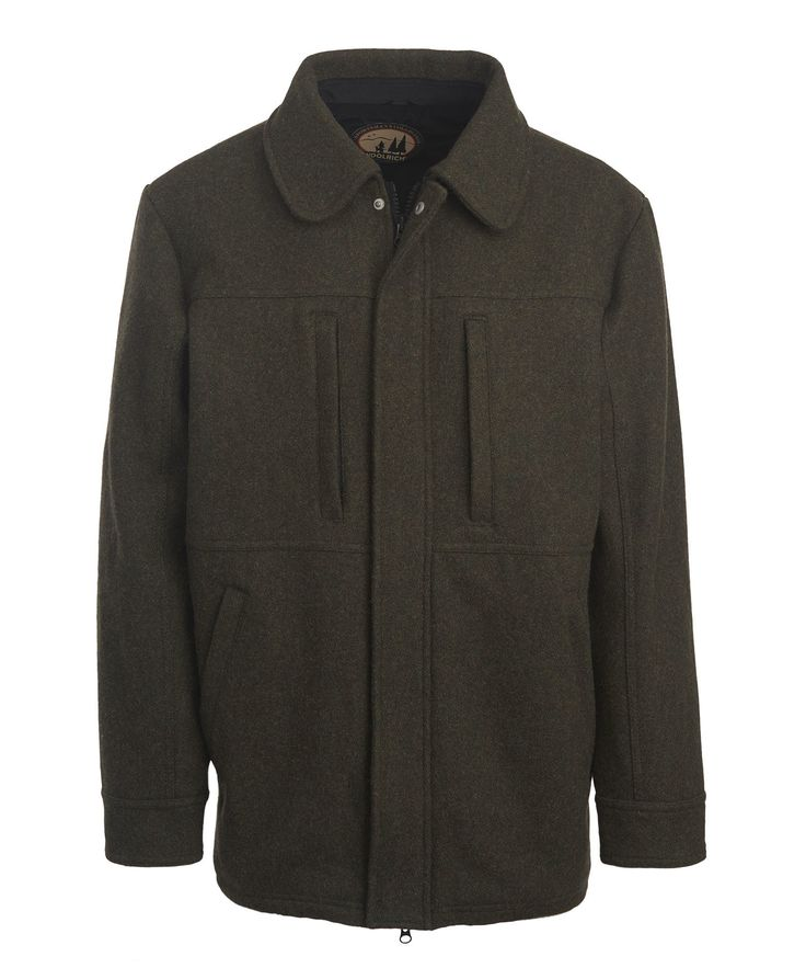 Men's Wool Hunting Coat by WOOLRICH® The Original Outdoor Clothing Company