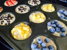 Customizable Baked Oatmeal Cups {21 Day Fix}