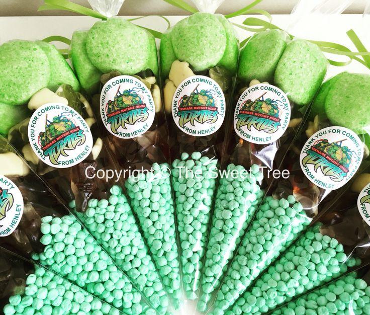 TMNT ninja turtles sweet cones party bag alternative