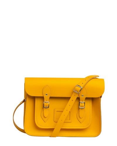 Upwardly Mobile Satchel / The Cambridge Satchel Company #bag #satchel #style: Style, Yellow Satchel, Upward Mobiles, Cambridge Satchel, Modcloth, Satchel Company, Beautiful Bags, Mobiles Satchel, While