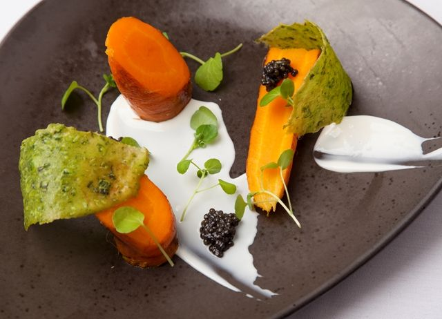 Goat's Curd with Carrots Recipe - Great British Chefs