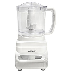 Brentwood Three Cup White Food Processor  @Overstock - This functional and attractive food processor features stainless steel chopping blades and a safety interlock system. Dishwasher safe for easy cleanup, this food processor is a great addition to your kitchen. http://www.overstock.com/Home-Garden/Brentwood-Three-Cup-White-Food-Processor/6825397/product.html?CID=214117 $30.99