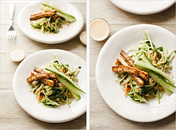 MISO SLAW | Broccoli slaw, Slaw recipes and Marinated tofu