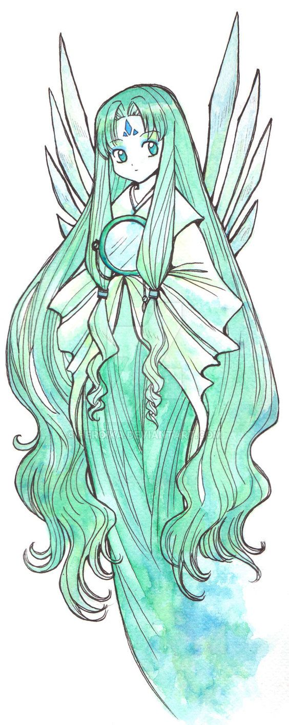 Clow Card The Mirror by Heroika on DeviantArt