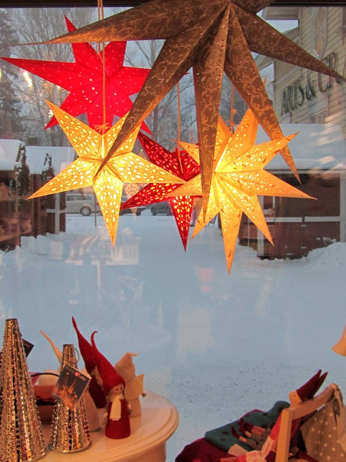 Taito Shop Joensuu, Finland and Christmas stars
