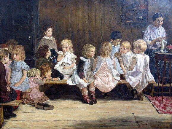 Infants School in Amsterdam Max Liebermann