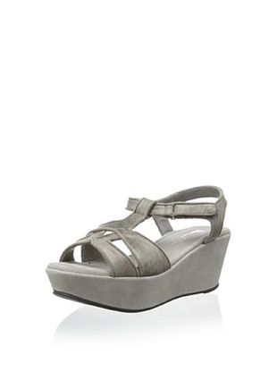 39% OFF Antelope Women's Strappy Sandal (Grey)