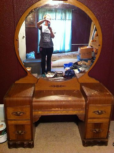 Antique Vanity Dressing Table