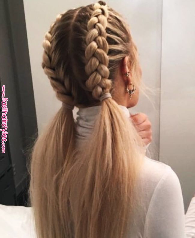 Pin By Kamyla Acosta On Hair In 2019 Pinterest Hair Styles Hair And Curly Hair Styles Fast Hairs In 2020 Braided Hairstyles Thick Hair Styles Long Hair Styles