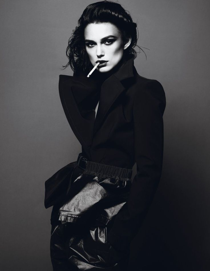 Keira Knightley | Mert & Marcus #photography | Interview Magazine | http://bit.ly/HSsMeTKeiraknightley, Girls Crushes, Fashion, Keira Knightley,  Suits Of Clothing, Black White, Femme Fatale, Mert Marcus, Photography