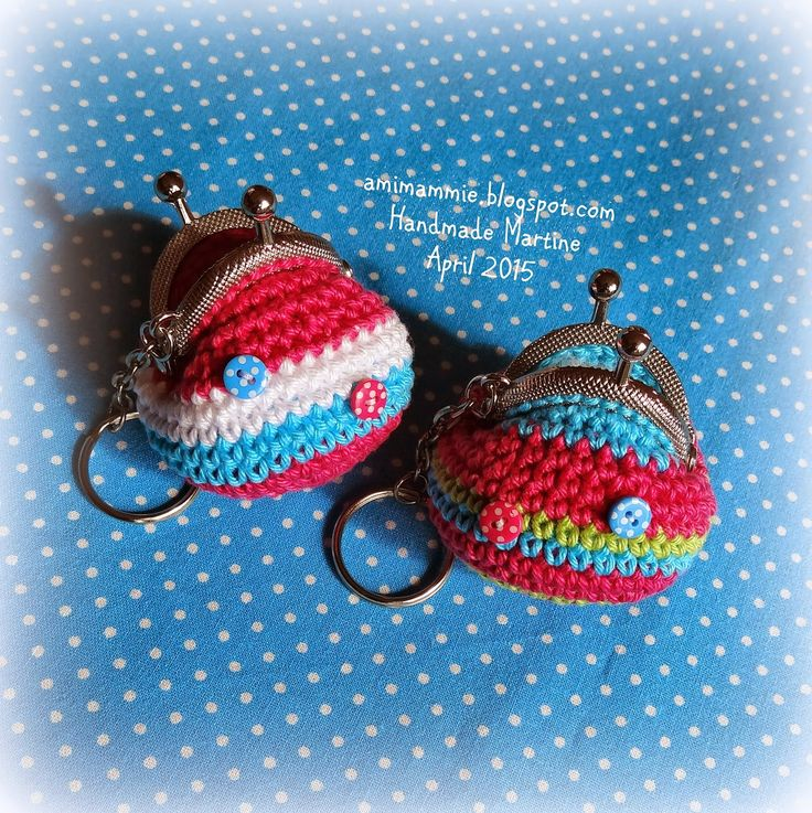 Crochet pattern gratis haak patroon mini portemonnee haakpatroon