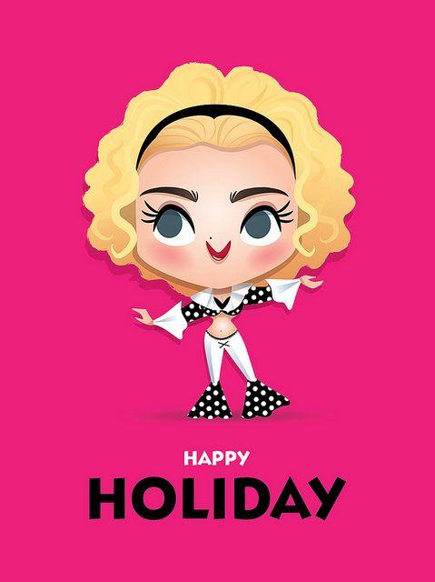 Madonna - Holiday by Jerrod Maruyama, via Flickr