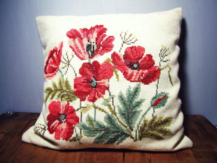 Danish Vintage Handmade Embroidery