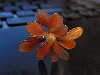 alles-vanellis: Bloemen van nagellak maken. Tutorial