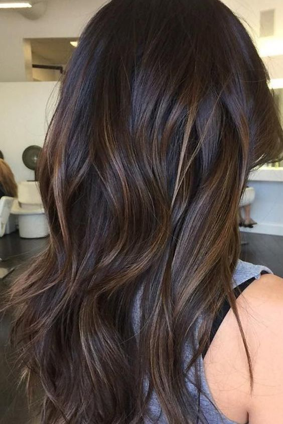 The subtle balayage brunette Hairstyles for fall and winter! Hope they can  inspire you and read the article to get the gallery.