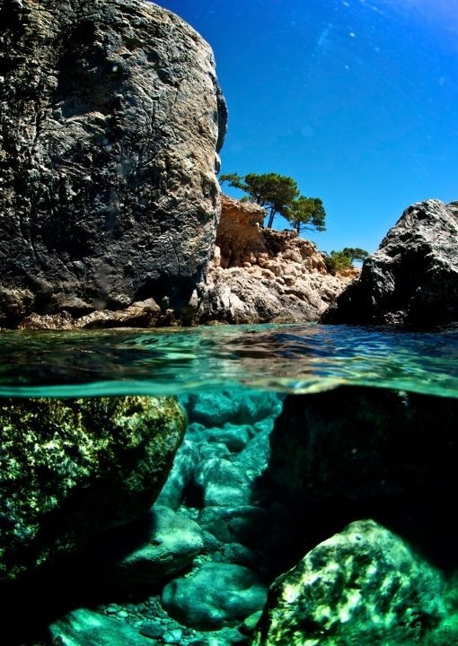 Picture taken from the water by Kato Lako, Karpathos