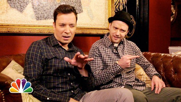 #Hashtag, Jimmy Fallon & Justin Timberlake Mimic a Twitter Conversation in Real Life