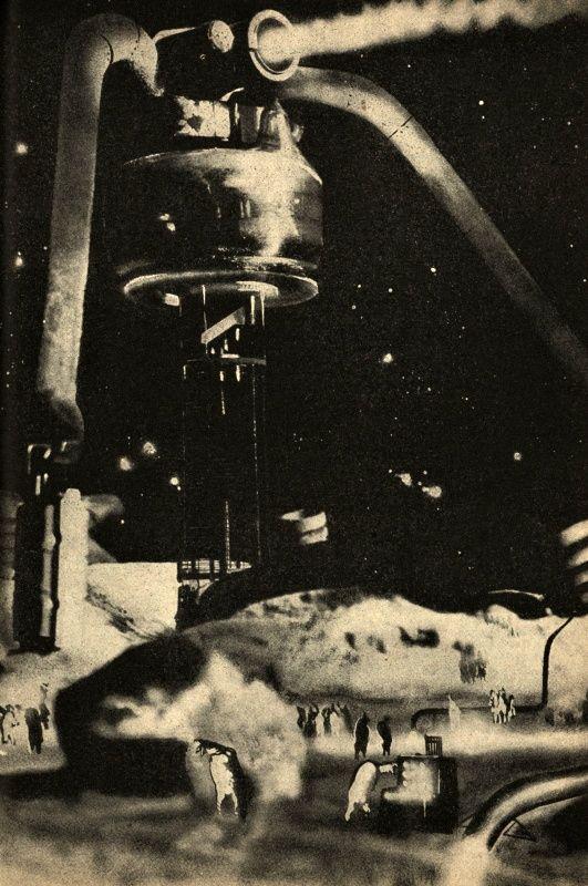 Teodor Rotrekl. Illustrations for Planet Eden, by Stanislaw Lem, and Technicky Magazín. 1959-1960.