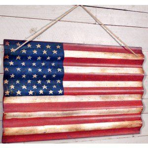 25 best ideas about corrugated metal on pinterest With best brand of paint for kitchen cabinets with american flag metal wall art