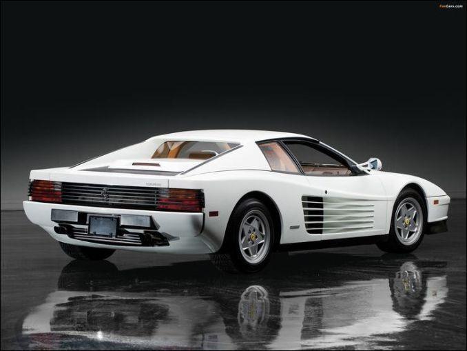 43 Awesome Ferrari Testarossa White Ferrari Testarossa Super