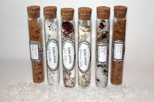 DIY, Basteln: Gewürzmischung aus dem Reagenzglas in Geschenke aus der Küche und Geschenkideen - DIYCarinchen