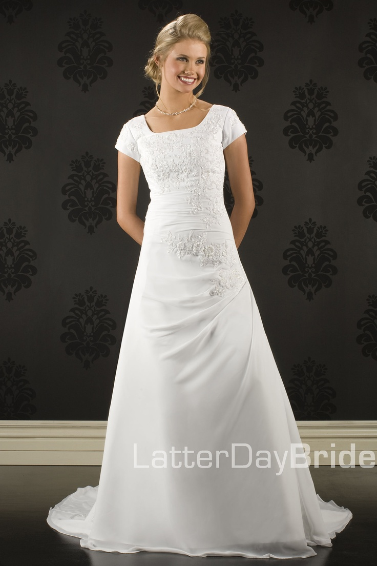Lds Wedding Gowns For Rent : Length wedding dresses jeweled and