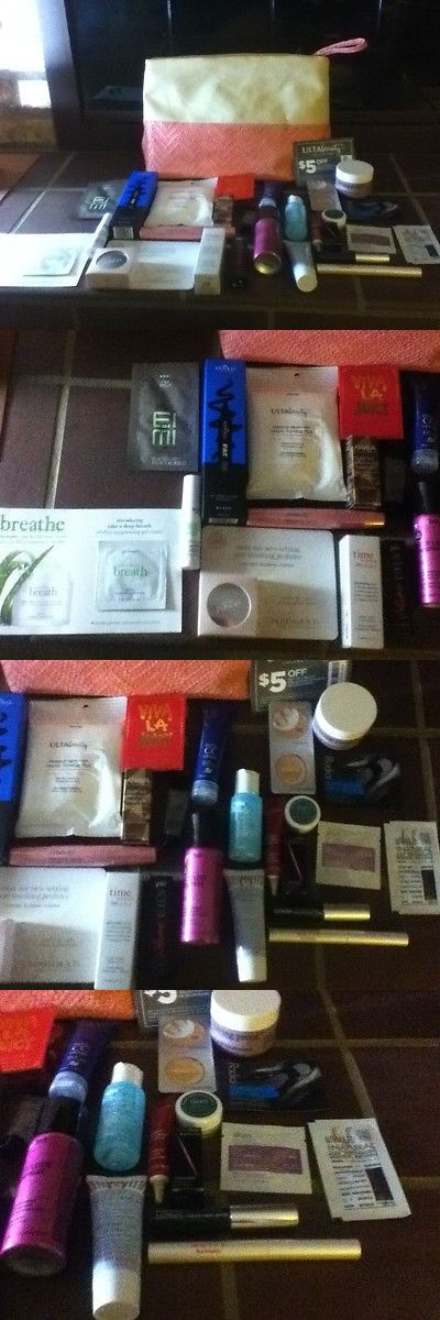 Mixed Makeup Lots: Ulta Beauty Bag Makeup Fragrance Samples! $249 Value! Brand New! Lot Of 27 And Bag -> BUY IT NOW ONLY: $49.99 on eBay!