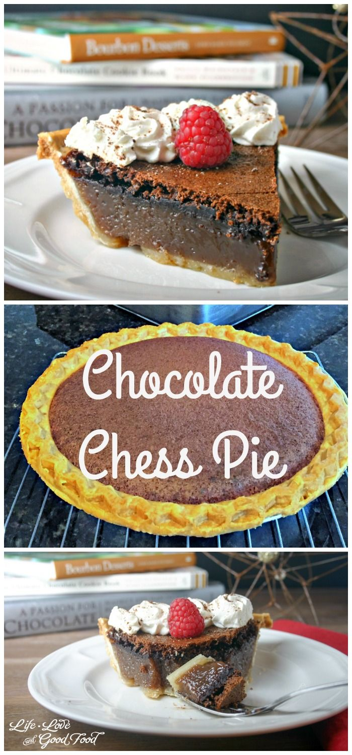 Chocolate Chess Pie | Life, Love, and Good Food