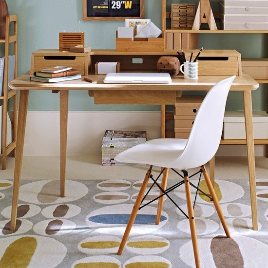 check out housetohomes 5 steps to creating a mid century modern home office for more home office ideas visit the housetohome galleries