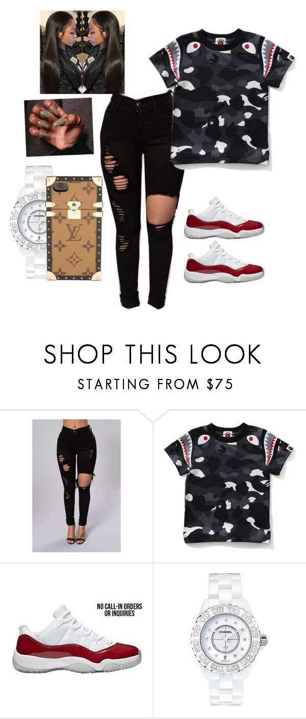 """""""Untitled #159"""" by celebcash ❤ liked on Polyvore featuring Chanel and Louis Vuitton"""