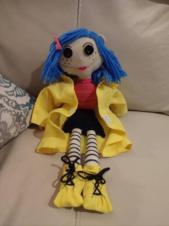 Check Out This Item In My Etsy Shop Https Www Etsy Com Listing 690770713 Coraline Doll Coraline Doll Cute Dolls Coraline