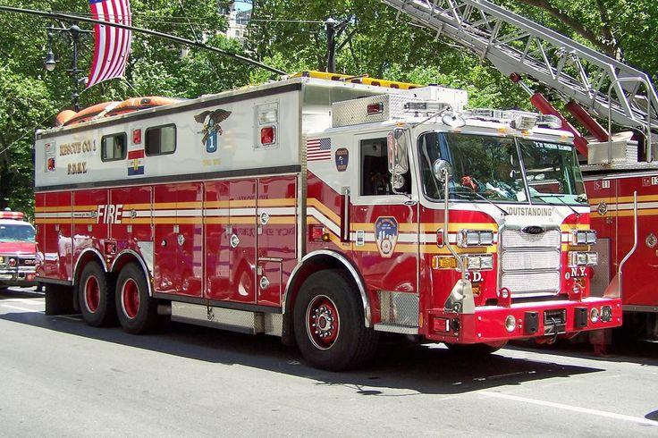 FDNY Rescue 1 Pierce HRS