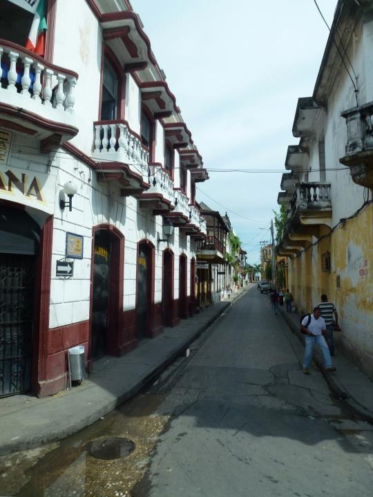 calles coloniales de CARTAGENA
