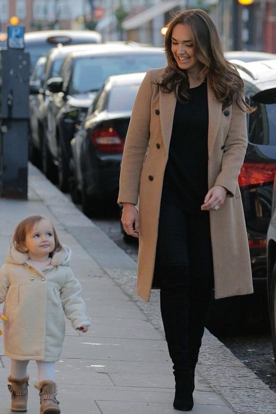 Tamara Ecclestone wearing Rag & Bone Faye Coat