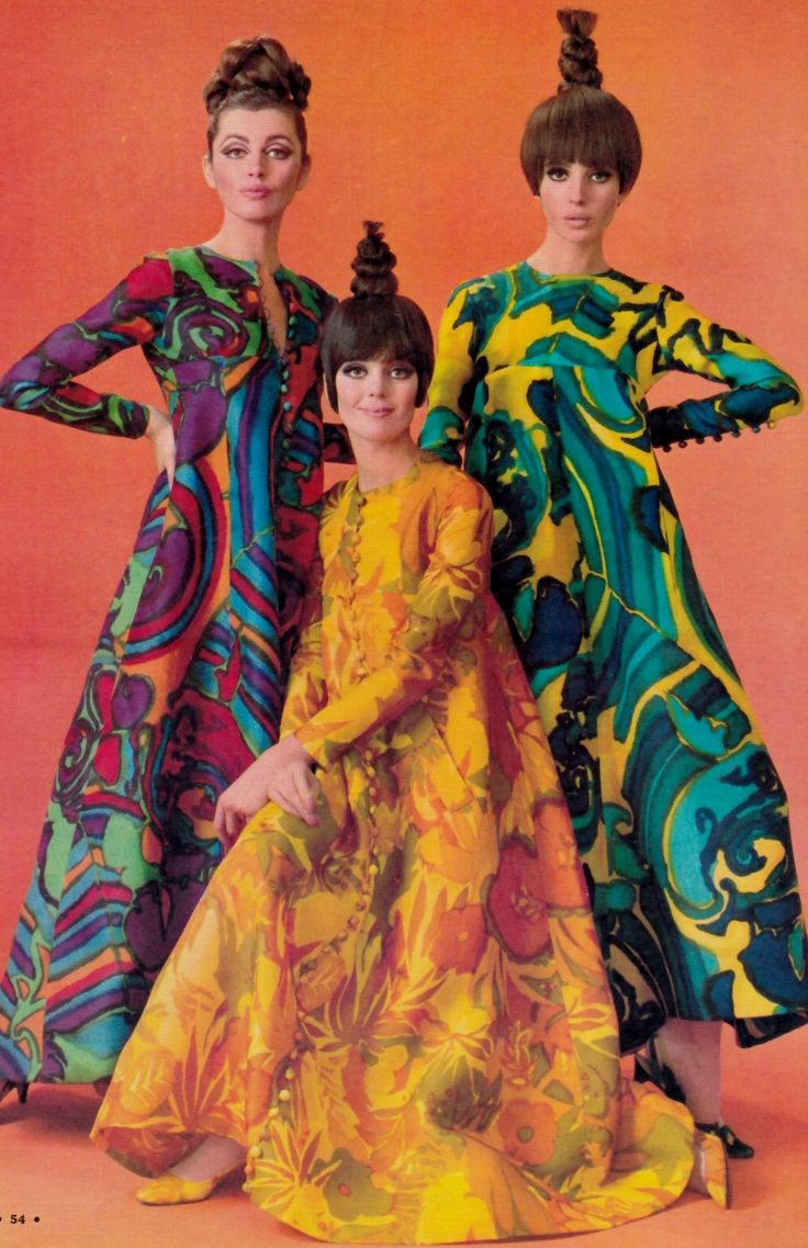 Robes de Jean Patou, Echo de la Mode 1966