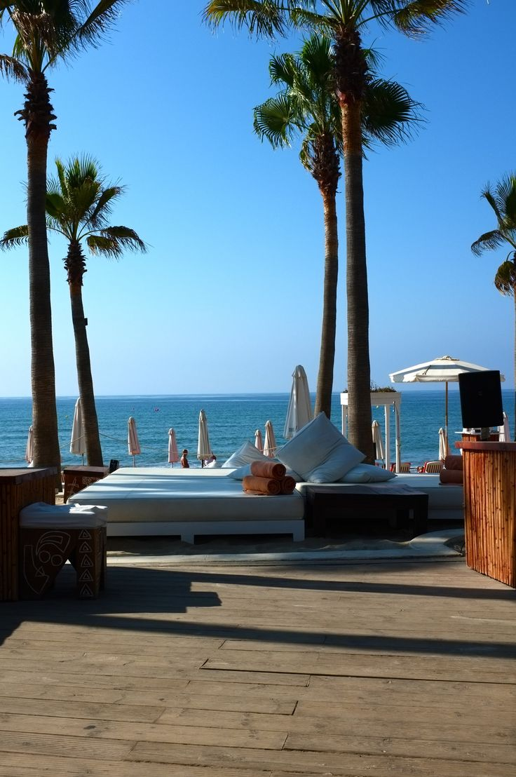 Nikki Beach, Marbella, Spain. Cant wait to get back here this summer. Home sweet home!!!