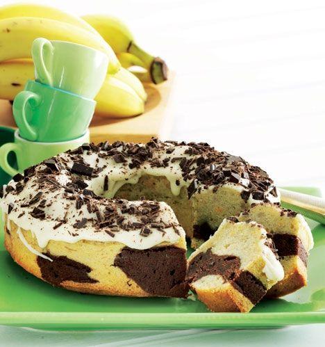 ABC-kage (Appelsin-Banan-Chokolade)