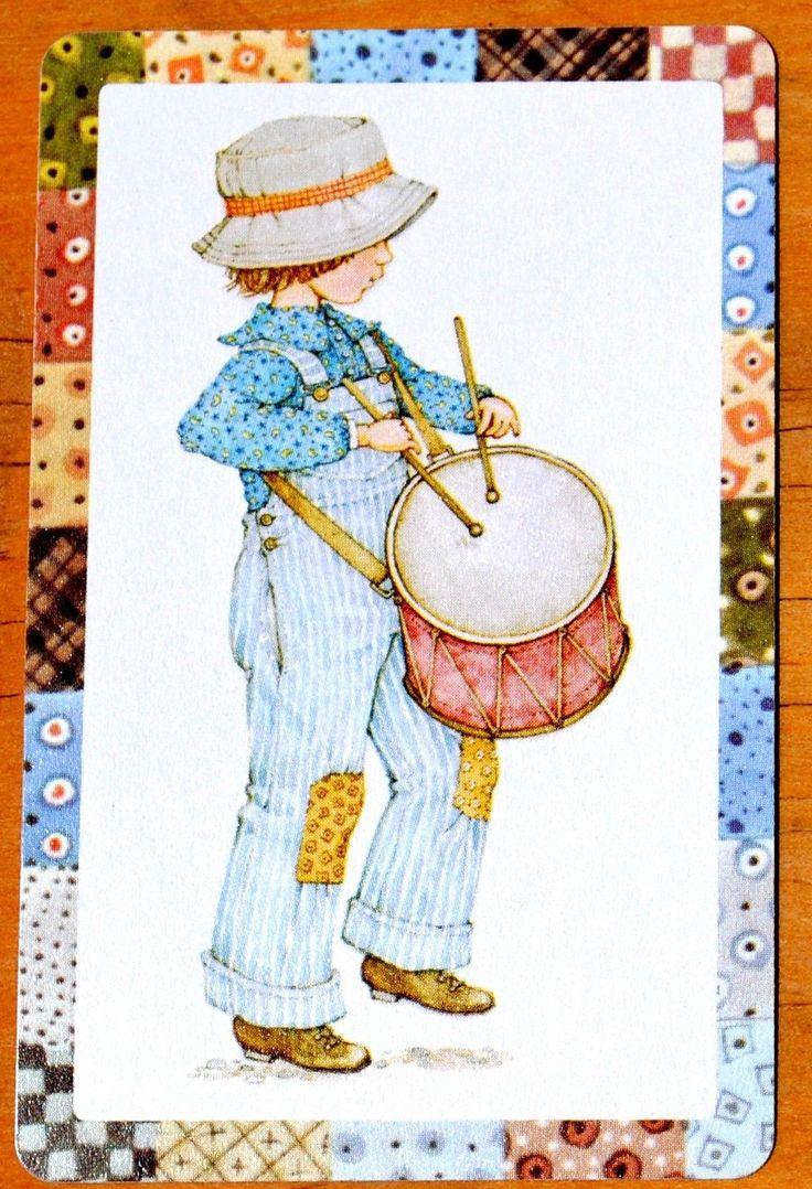 100 best holly hobbie images on pinterest holly hobbie hobbies children holly hobbie boy with drum single swap playing card ebay reviewsmspy