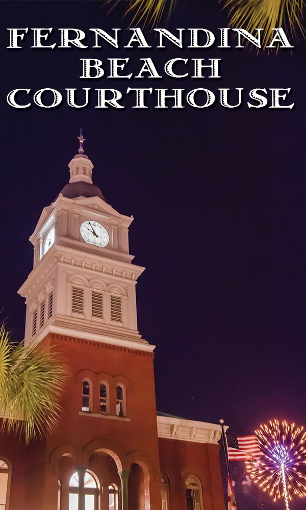 Are you planning to travel to Amelia Island for you're vacation? Be sure to make a stop to the historic Fernandina Beach Courthouse! --------------- #florida #tourism #courthouse #history #landmark #fernandina #beach #amelia #island