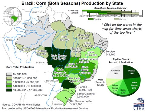 Mais: attenzione al Brasile - Materie Prime - Commoditiestrading