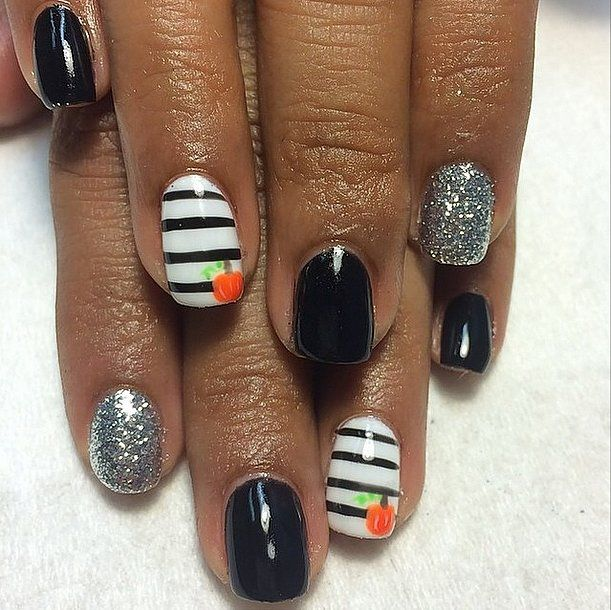 101 Halloween Nail Art Ideas That Are Better Than Your Costume: We're counting down the days to Halloween around here!