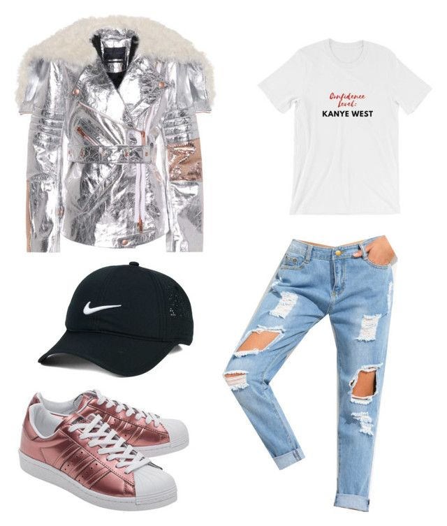 """Untitled #143"" by dariatamasan on Polyvore featuring adidas Originals, Proenza Schouler and NIKE"