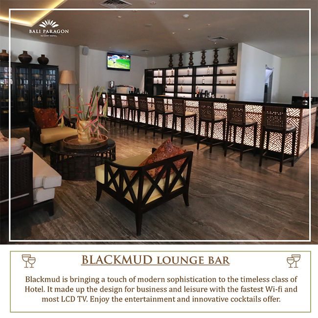 Perfect for meeting friends and co-workers. Enjoy small plates in the lounge or just relax at the bar. Only at BlackMud Lounge Bar.