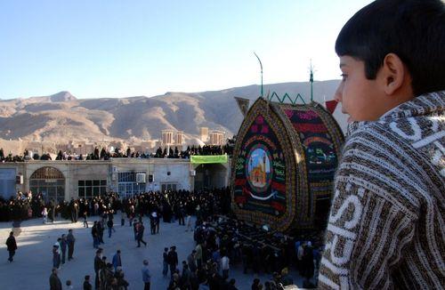 festival muharram,Yazd,Iran