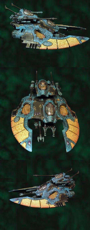 Eldar Falcon - holy runes!