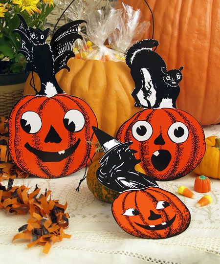 vintage halloween decorations vintage halloween vintage blog 1950s halloween halloween decor - Antique Halloween Decorations