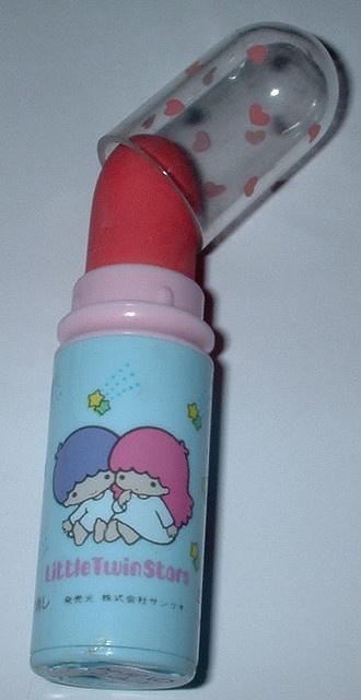 【1976】Lipstick Eraser ★Little Twin Stars★