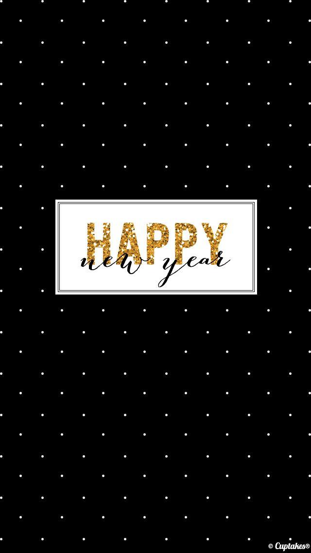 New Year iPhone homescreen wallpaper