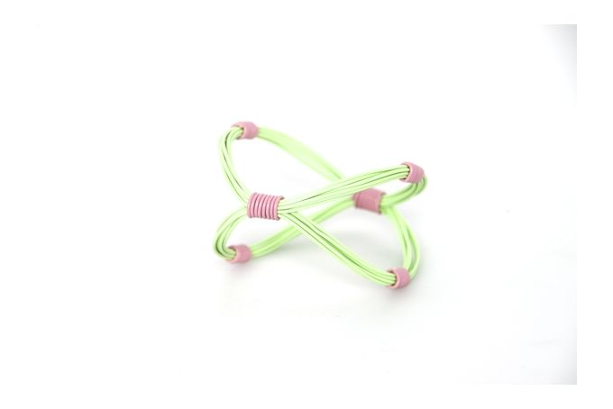Ring Ring Bling Infinity Bangle by Blossom Handmade on hellopretty.co.za